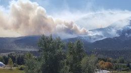 Decker Fire Methodist Mountain